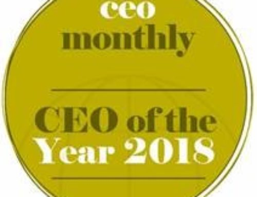 "Oh No I have won another #award. ""CEO of the Year 2018"""