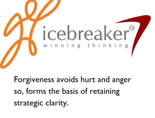 antidote to intolerance is forgiveness: